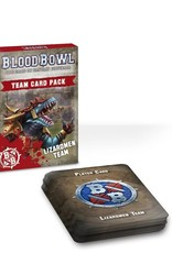 Games Workshop Team Card Pack: Lizardmen Team