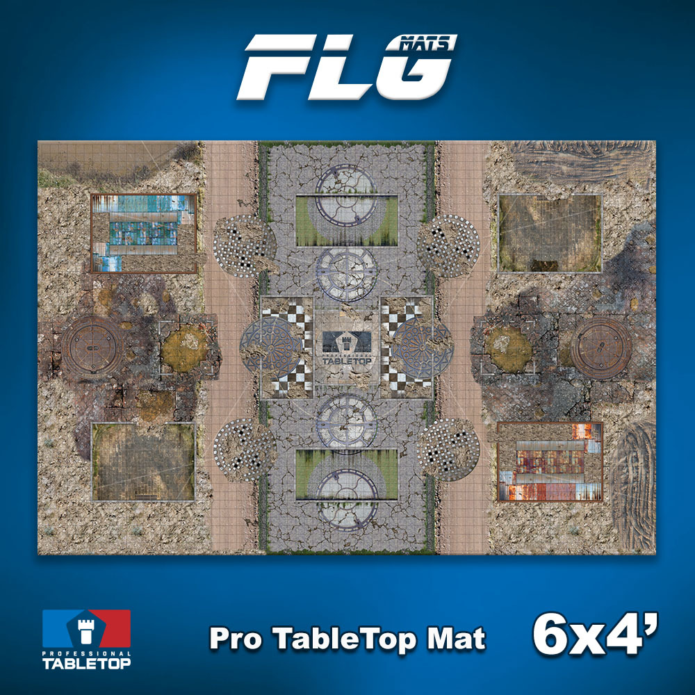 Frontline Gaming Pro Tabletop Mat 6x4'