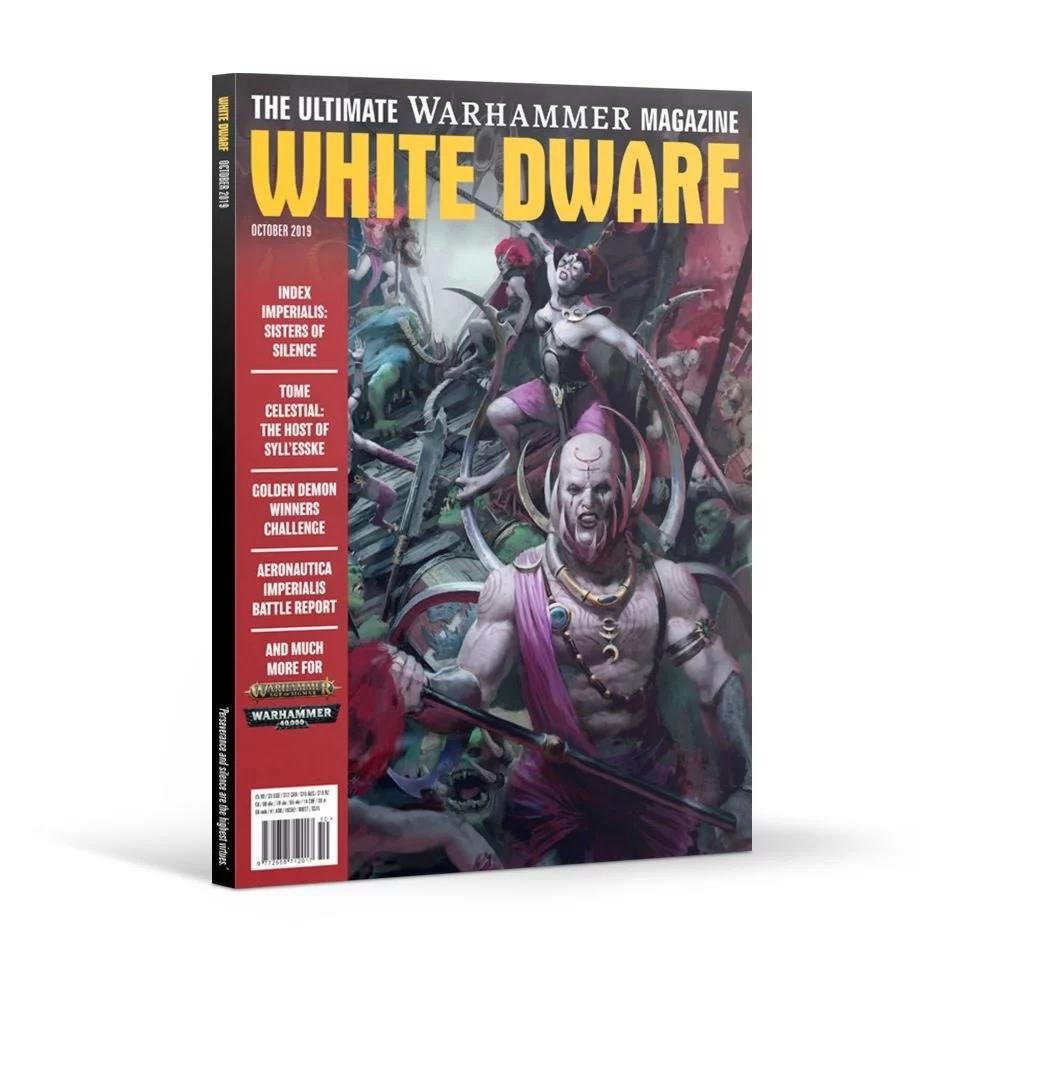 Games Workshop White Dwarf October 2019