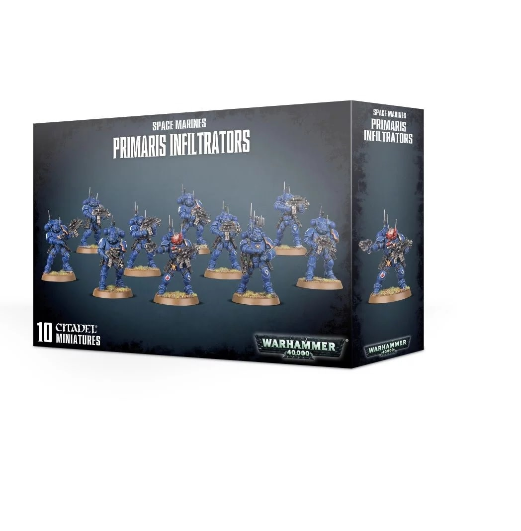 Games Workshop Primaris Infiltrators
