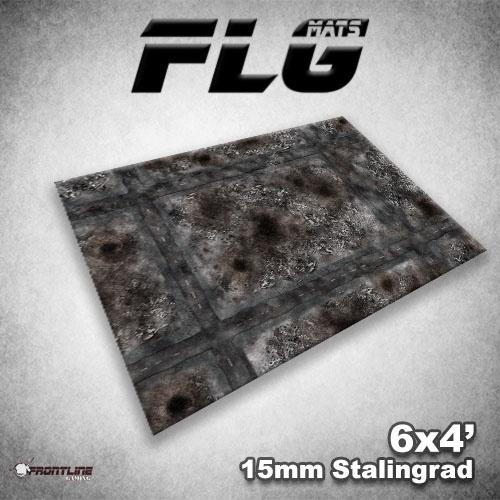 Frontline-Gaming FLG Mats: 15mm Stalingrad 6x4'