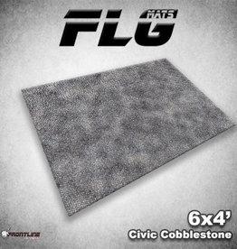 Frontline Gaming FLG Mats: Civic Cobblestone 6x4'
