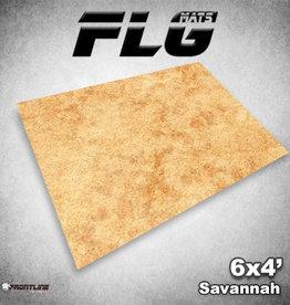 Frontline-Gaming FLG Mats: Savannah 6x4'