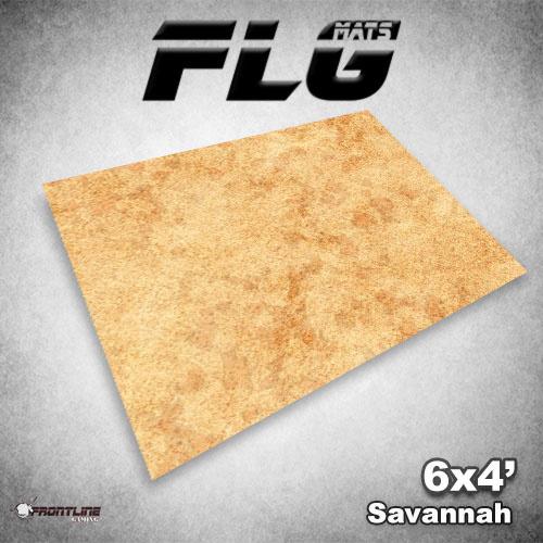 Frontline Gaming FLG Mats: Savannah 6x4'