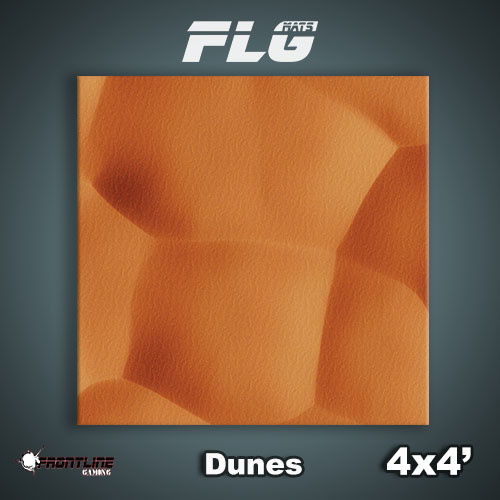 Frontline Gaming FLG Mats: Dunes 4x4'