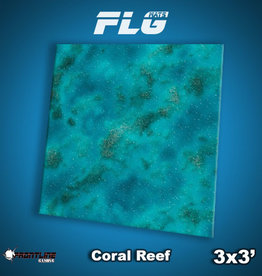 Frontline-Gaming FLG Mats: Coral Reef 3x3'