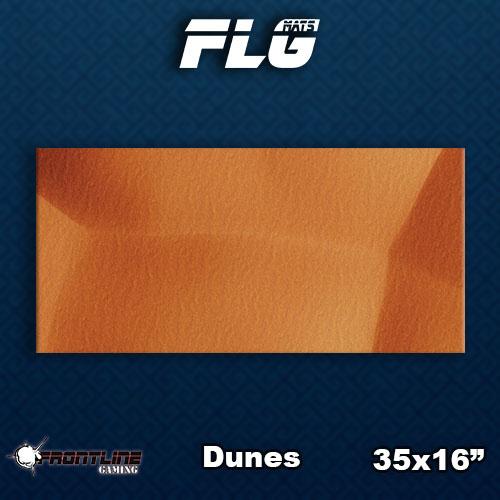 Frontline Gaming FLG Mats: Dunes Desk Mat