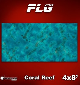 Frontline-Gaming FLG Mats: Coral Reef 4x8'