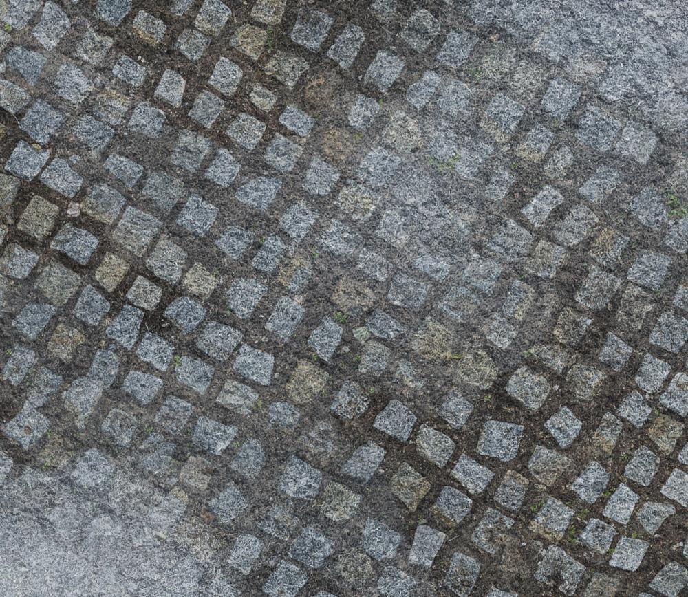 Frontline Gaming FLG Mats: Snow Cobblestone Village 6x4'