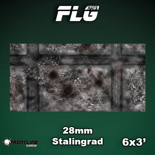 Frontline Gaming FLG Mats: 28mm Stalingrad 6x3'