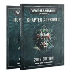 Games Workshop Chapter Approved 2019 Edition
