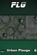 Frontline-Gaming FLG Mats: Urban Plague 6x3'
