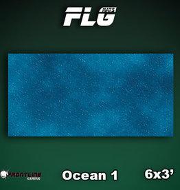 Frontline-Gaming FLG Mats: Ocean 1 6x3'