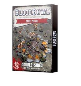 Games Workshop Blood Bowl Ogre Team Pitch & Dugouts