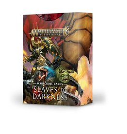 Games Workshop Warscroll Cards: Slaves to Darkness