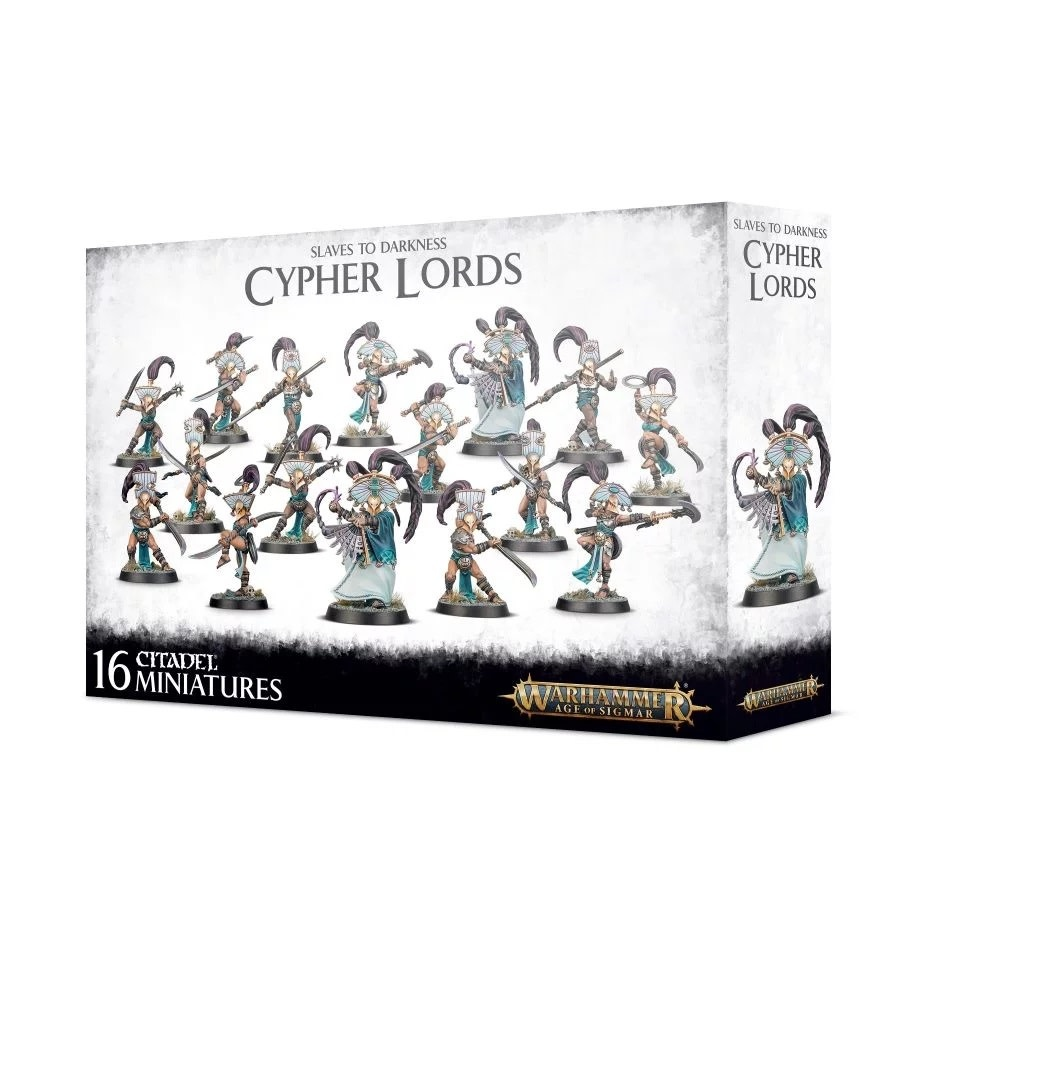 Games Workshop Slaves to Darkness Cypher Lords