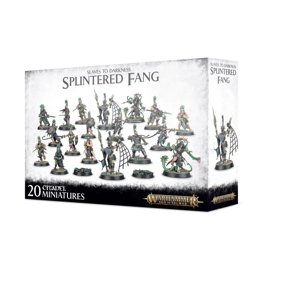 Games Workshop Slaves to Darkness The Splintered Fang