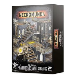 Games Workshop Necromunda Zone Mortalis Platforms and Stairs