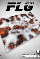 Frontline Gaming FLG Mats: Volcanic Snow 6x4'