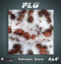Frontline Gaming FLG Mats: Volcanic Snow 4x4'