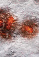 Frontline-Gaming FLG Mats: Volcanic Snow 4x4'