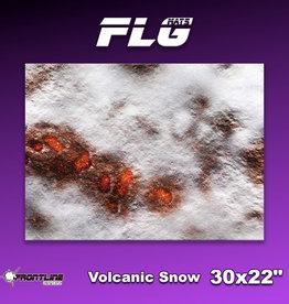 "Frontline-Gaming FLG Mats: Volcanic Snow 30"" x 22"""