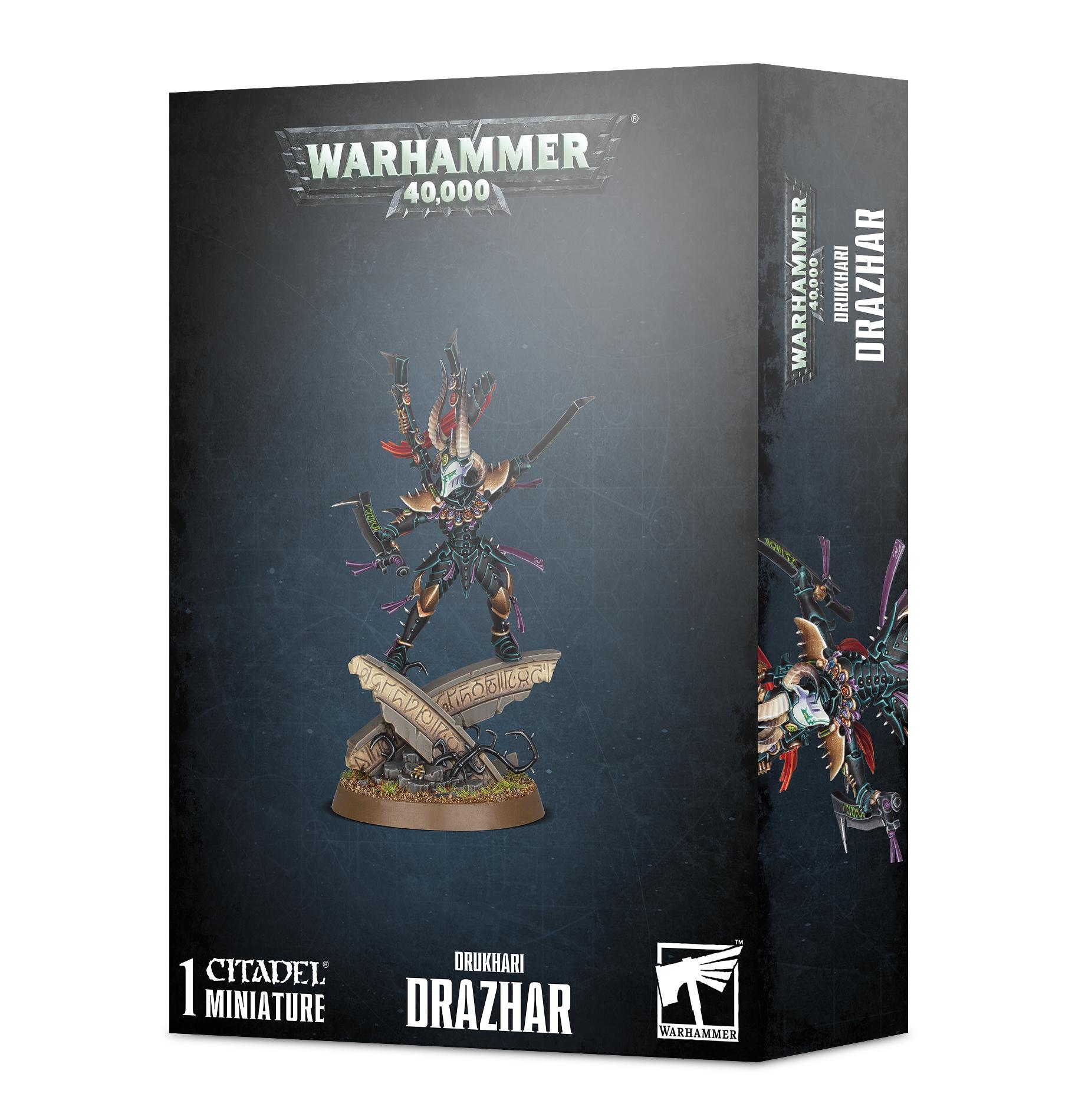 Games Workshop Drazhar, Master of Blades