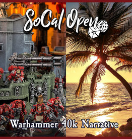 Frontline Gaming SoCal Open 2020 Warhammer 40k Narrative