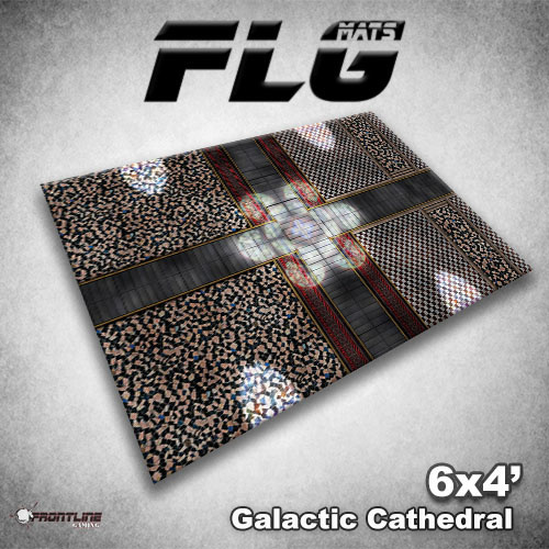 Frontline-Gaming FLG Mats: Galactic Cathedral 6x4'