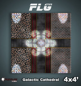 Frontline-Gaming FLG Mats: Galactic Cathedral 4x4'