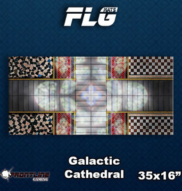 Frontline Gaming FLG Mats: Galactic Cathedral Desk Mat