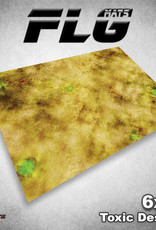 Frontline-Gaming FLG Mats: Toxic Desert 6x4'