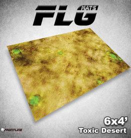 Frontline Gaming FLG Mats: Toxic Desert 6x4'