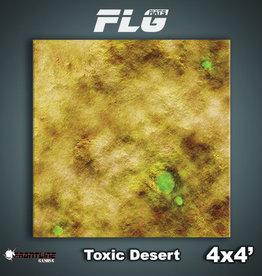 Frontline Gaming FLG Mats: Toxic Desert 4x4'