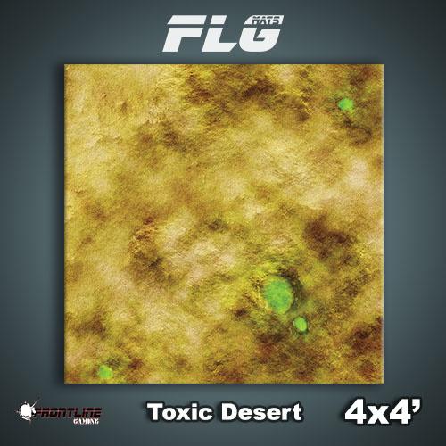 Frontline-Gaming FLG Mats: Toxic Desert 4x4'