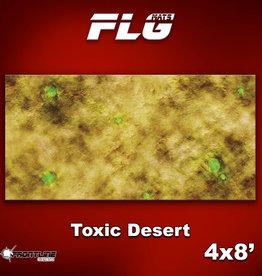 Frontline-Gaming FLG Mats: Toxic Desert 4x8'