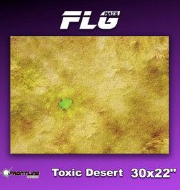 """Frontline Gaming FLG Mats: Toxic Desert 30"""" x 22"""""""