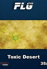 Frontline-Gaming FLG Mats: Toxic Desert Desk Mat