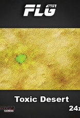 """Frontline-Gaming FLG Mats: Toxic Desert 24"""" x 14"""""""