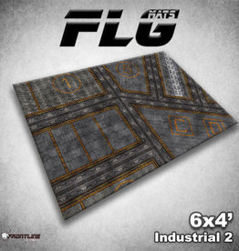 Frontline-Gaming FLG Mats: Industrial 2 6x4'