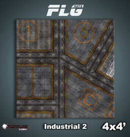 Frontline-Gaming FLG Mats: Industrial 2 4x4'