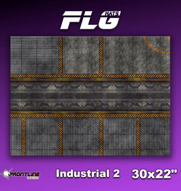 "Frontline-Gaming FLG Mats: Industrial 2 30"" x 22"""