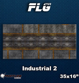 Frontline Gaming FLG Mats: Industrial 2 Desk Mat