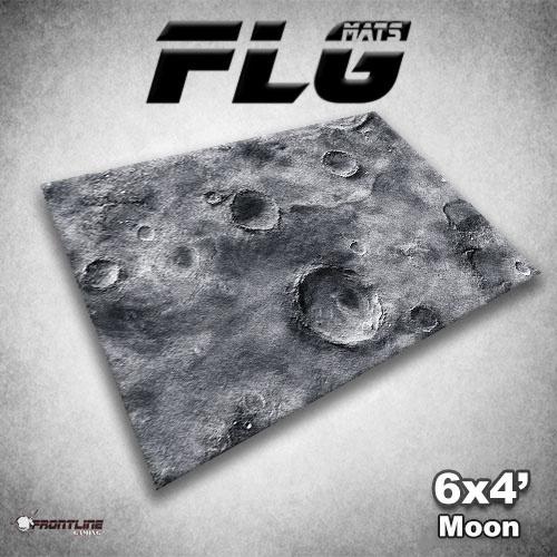 Frontline-Gaming FLG Mats: Moon 6x4'