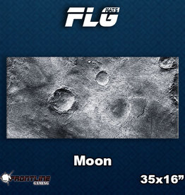 Frontline-Gaming FLG Mats: Moon Desk Mat