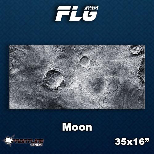 Frontline-Gaming FLG Mats: Moon Desk Mat