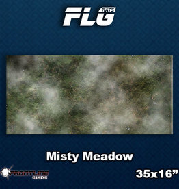 Frontline Gaming FLG Mats: Misty Meadow Desk Mat