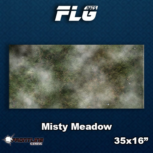Frontline-Gaming FLG Mats: Misty Meadow Desk Mat