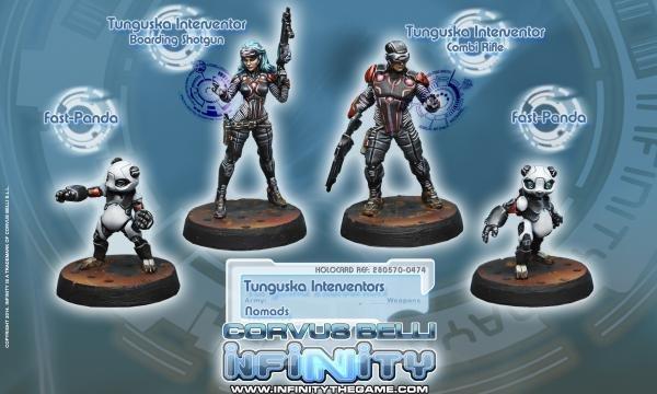 Corvus Belli Tunguska Interventors