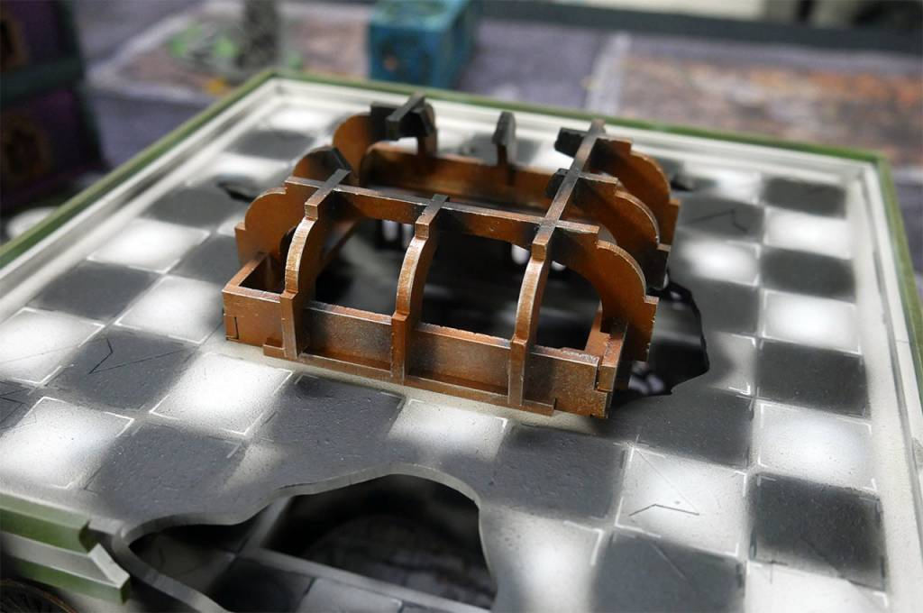 Frontline Gaming ITC Terrain Series: Battle Damaged Urban Square